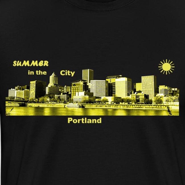 Portland Summer City Oregon USA