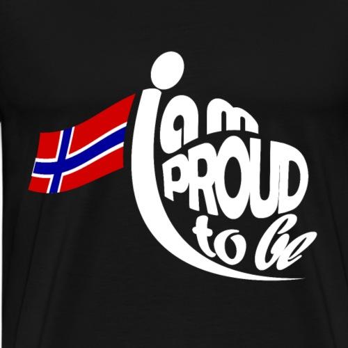 Stolz Norweger zu sein Flagge