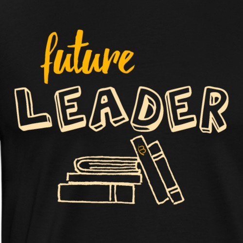 Future Leader - Yellow - Men's Premium T-Shirt