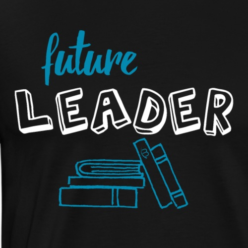Future Leader - White - Men's Premium T-Shirt