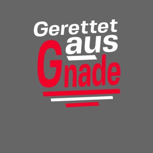 Gerettet aus Gnade - Männer Premium T-Shirt