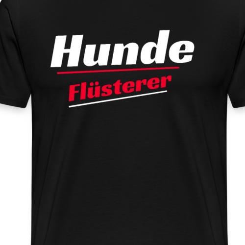 Hunde Flüsterer T-Shirts - Männer Premium T-Shirt