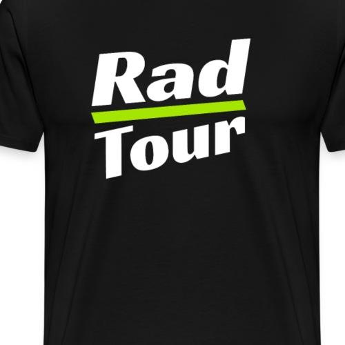 Rad Tour T-Shirt Fahrrad Geschenk Reise - Männer Premium T-Shirt