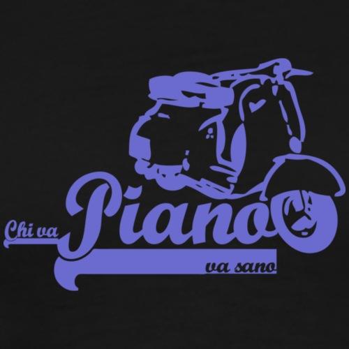 piano - Herre premium T-shirt