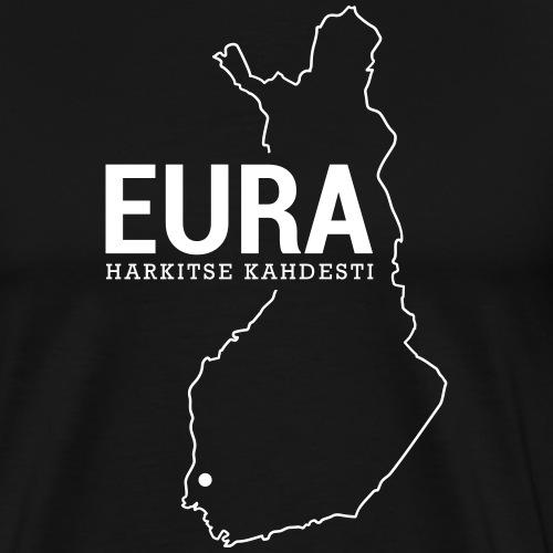 Kotiseutupaita - Eura - Miesten premium t-paita