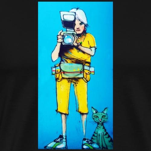 Girlcat - Männer Premium T-Shirt