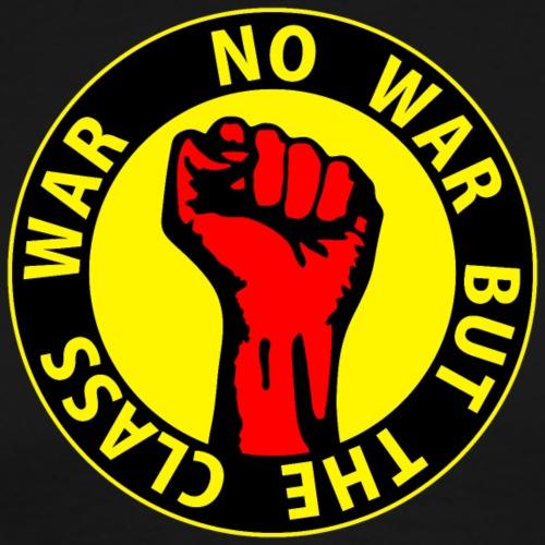 Digital - no war but the class war - against - Männer Premium T-Shirt