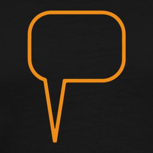 Talking to you - Mannen Premium T-shirt