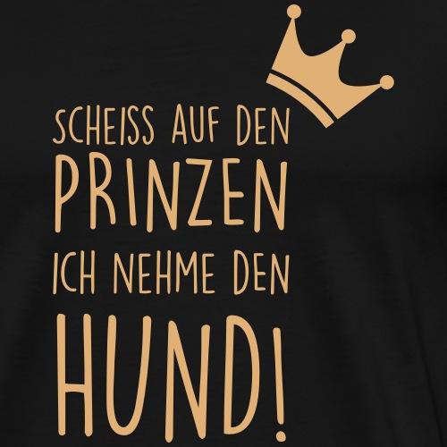 Prinz Hund - Männer Premium T-Shirt