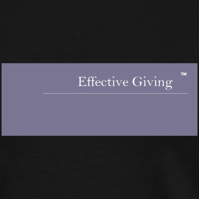 Effective Giving