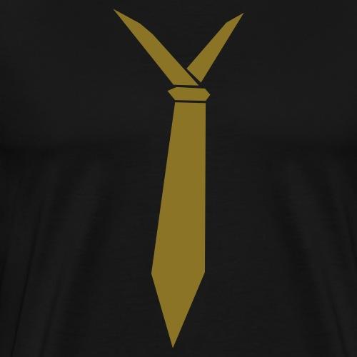 stropdas - Mannen Premium T-shirt