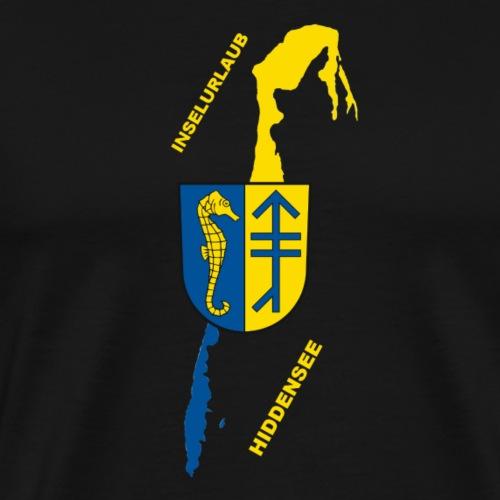 Hiddensee Ostsee Insel Urlaub - Männer Premium T-Shirt
