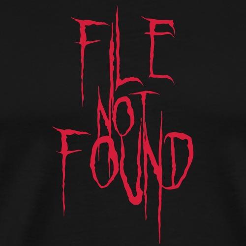 File Not Found - Maglietta Premium da uomo
