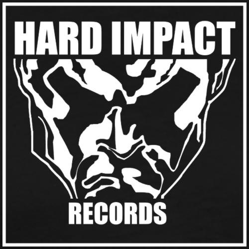 Hard Impact Records - Maglietta Premium da uomo