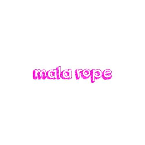 mala rope - Premium T-skjorte for menn