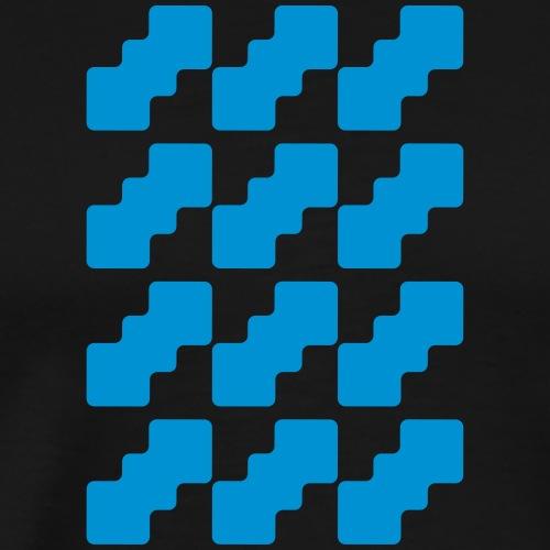 Fluid logo - Maglietta Premium da uomo