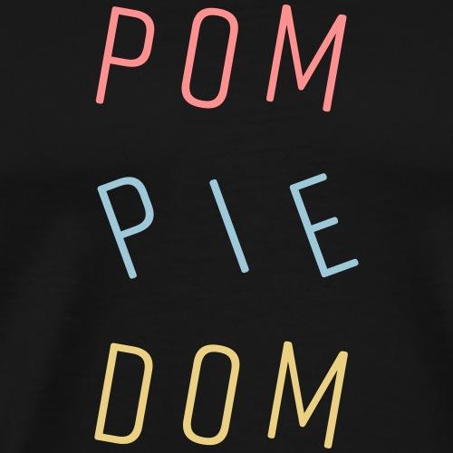 Pompiedom - Mannen Premium T-shirt