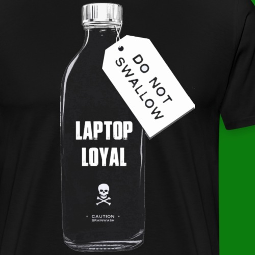 Laptop Loyal - Men's Premium T-Shirt