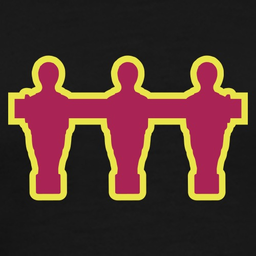 kickerspieler_outline - Kickershirt - Männer Premium T-Shirt