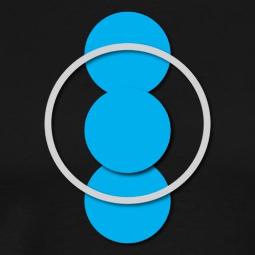 Circle - Herre premium T-shirt