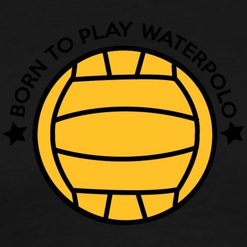borntowaterpolo - Men's Premium T-Shirt