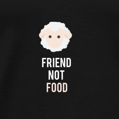 Mouton Bepa Friend not food - T-shirt Premium Homme