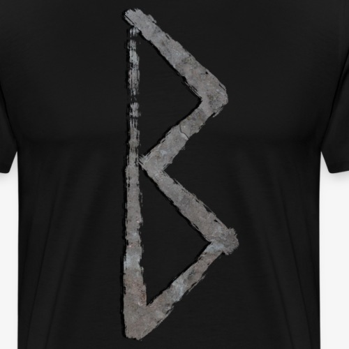 Bjarka #18 Stone By TheRawburt - Premium-T-shirt herr