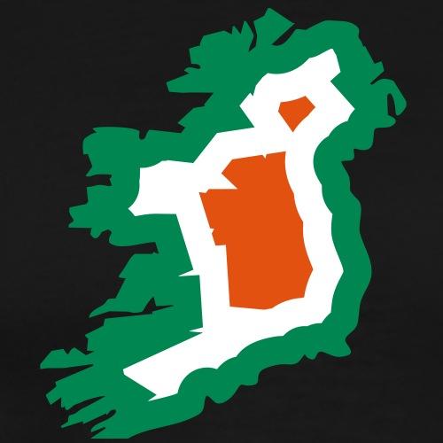 3 colors - Ireland irish Shamrock Saint Sankt - Männer Premium T-Shirt