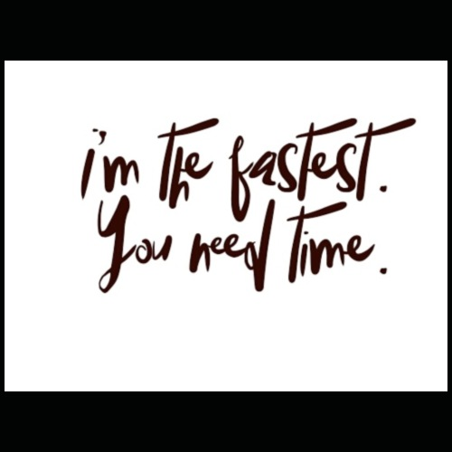 You need time - Premium T-skjorte for menn