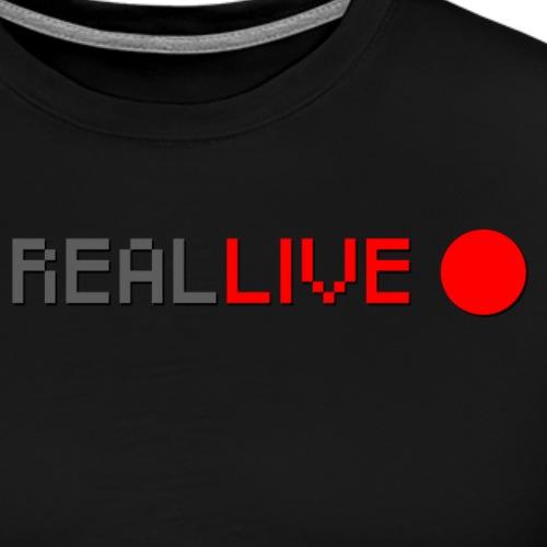 Real LIVE - Männer Premium T-Shirt