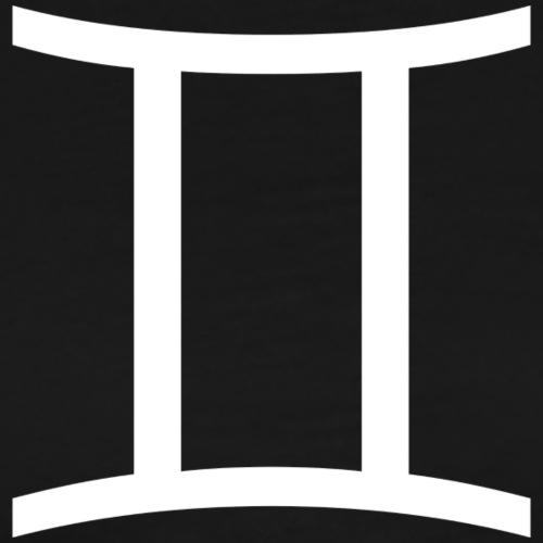 Zwilling Sternzeichen - Männer Premium T-Shirt