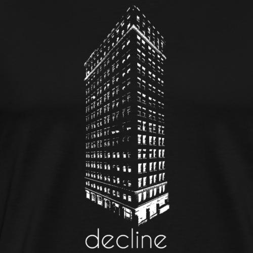decline - Männer Premium T-Shirt