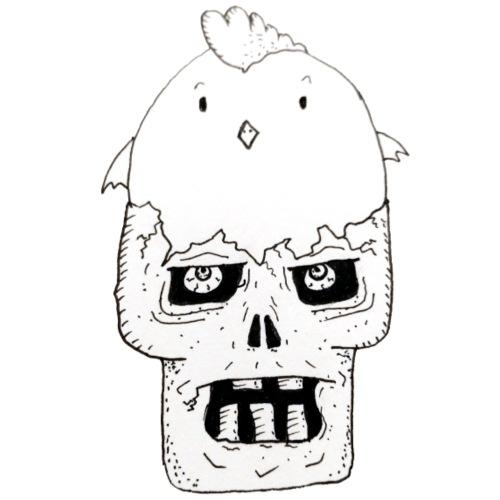 ChickSkull - T-shirt Premium Homme