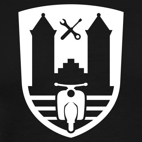 Mopedsport Wappen / Logo / Emblem - Men's Premium T-Shirt