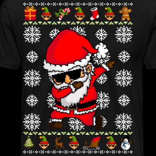 Dabbing Santa Claus - Ugly christmas sweater