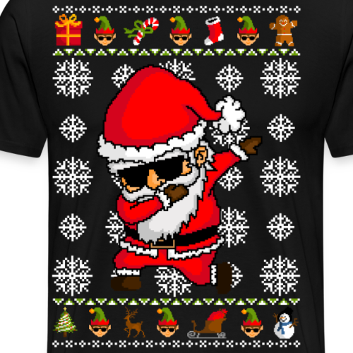 Dabbing Santa Claus - Ugly christmas sweater