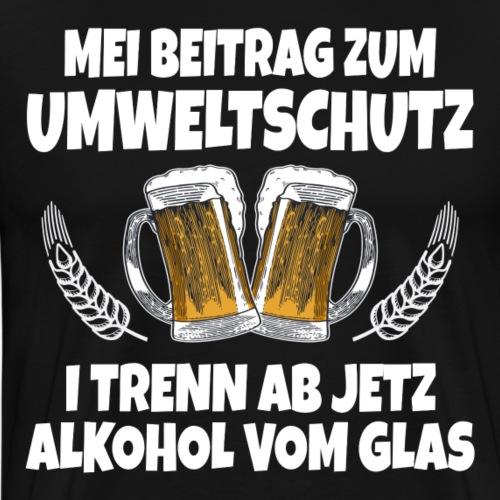 MEI BEITRAG ZUM UMWELTSCHUTZ - I TRENN AB JETZT .. - Männer Premium T-Shirt