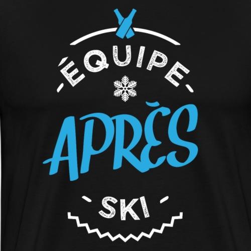Equipe après ski - T-shirt Premium Homme
