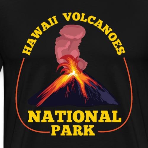 Hawaii Volcanoes National Park Big Island Kilauea - Männer Premium T-Shirt