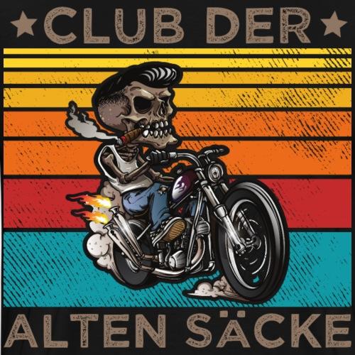 CLUB DER ALTEN SÄCKE. Biker Outfit lustiger Spruch - Männer Premium T-Shirt