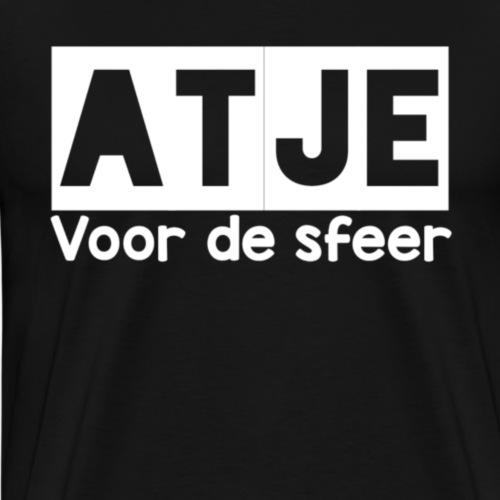 Atje voor de sfeer - Mannen Premium T-shirt