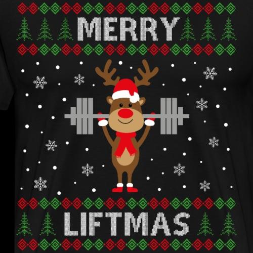 Merry Liftmas - Männer Premium T-Shirt