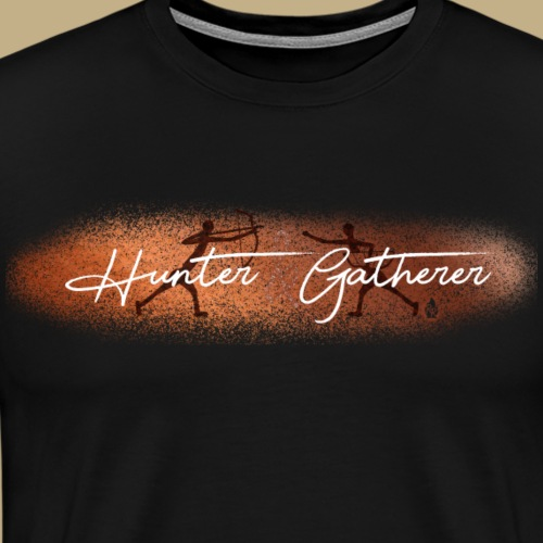 Hunter Gatherer Cave - Männer Premium T-Shirt