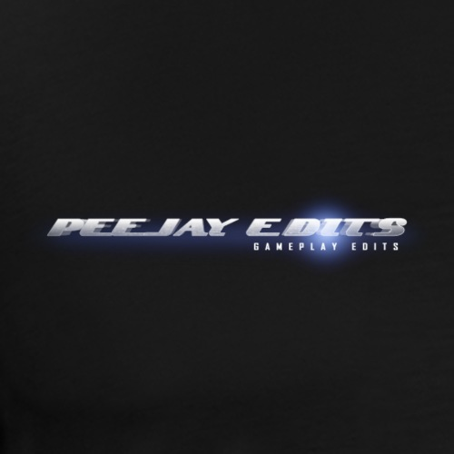 PeejaysEdit LogoBranding - Men's Premium T-Shirt