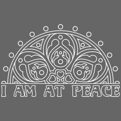 MANDALA I AM AT PEACE 2 - Männer Premium T-Shirt