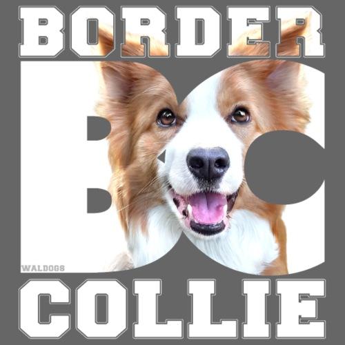 Border BC Collie - Miesten premium t-paita
