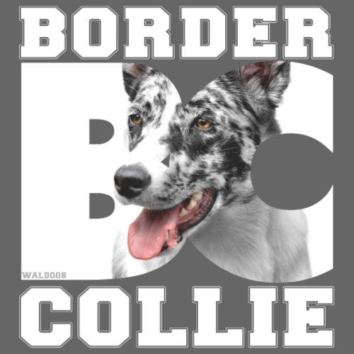 Border BC Collie II - Miesten premium t-paita