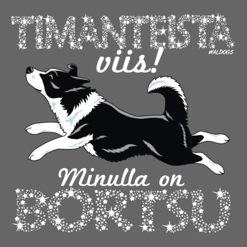 Bortsu Timanteista II - Miesten premium t-paita