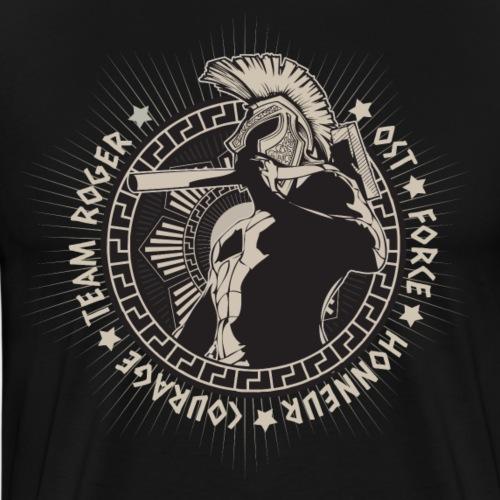 spartatan fond noir - T-shirt Premium Homme