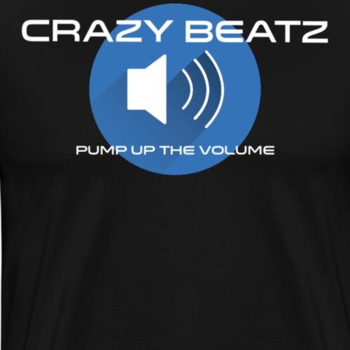 Crazy Beatz - Mannen Premium T-shirt